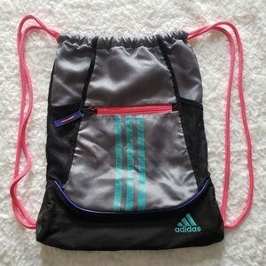 ADIDAS vintage drawstring backpack.